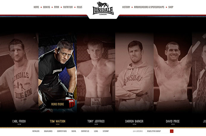 Lonsdale | Website Design