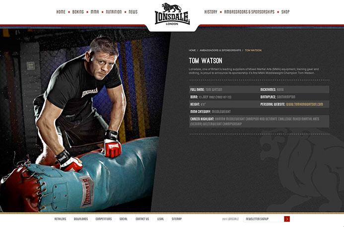 Lonsdale | Website Design