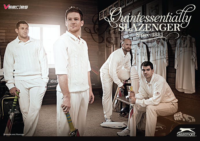 Slazenger Cricket 2013 | Advertising