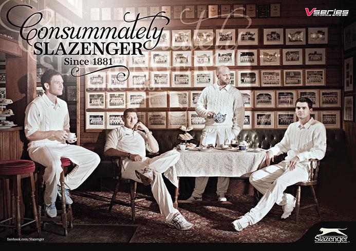 Slazenger Cricket 2013   Advertising
