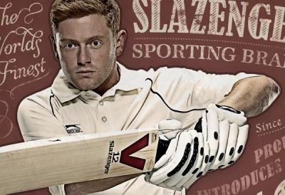 Slazenger Retro Cricket | Advertising