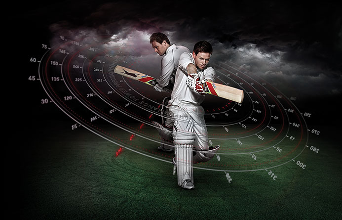 Slazenger Cricket Eoin Morgan | Advertising