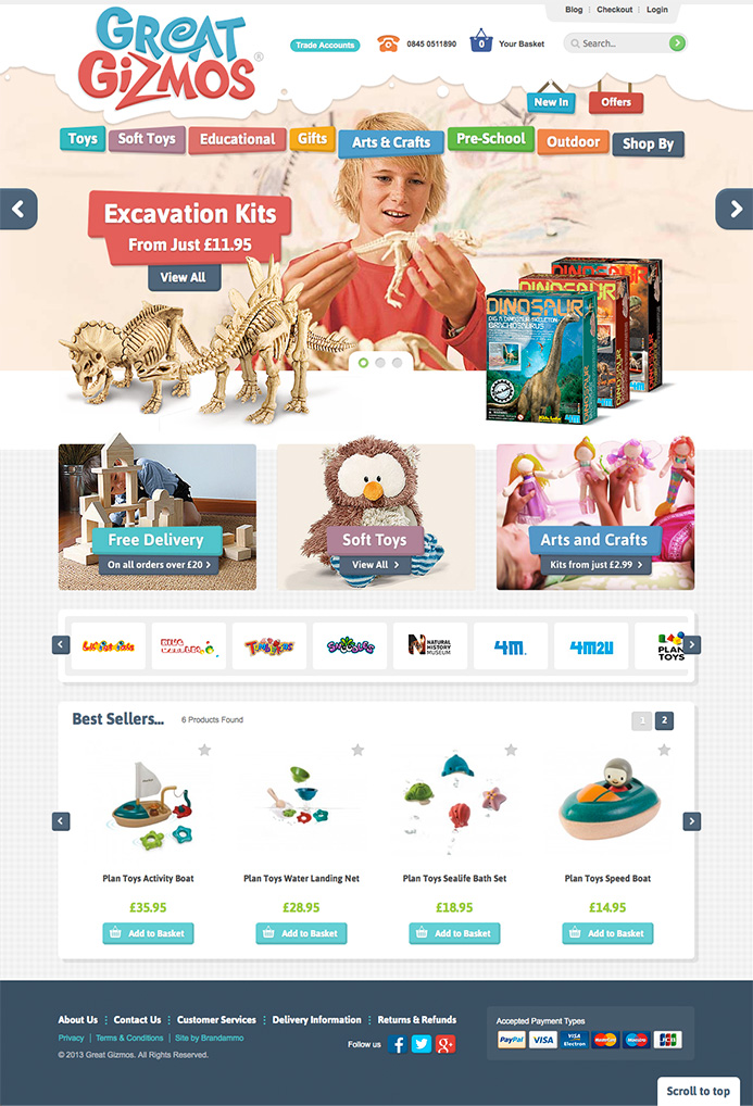 Great Gizmos E-Commerce Website