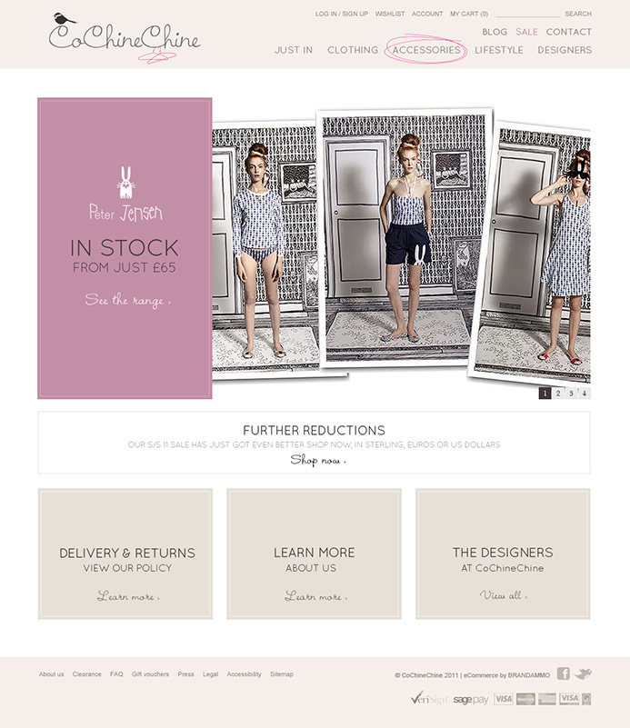 CoChineChine E-Commerce Website